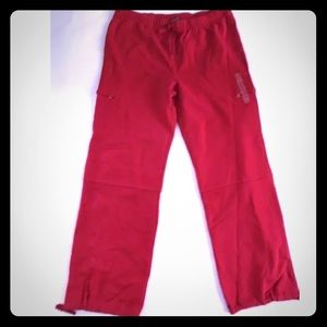 Gap women's large red sweatpants new